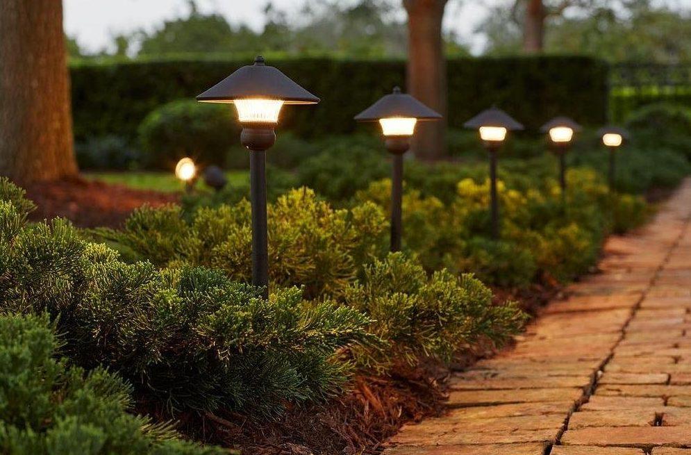 Landscape Lighting Schmitt S Company Naperville