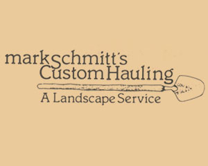 Mark Schmitt's Custom Hauling New Logo