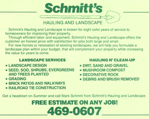 Landscaping Was becoming Big Business