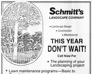 Landscaping Services Advertisement